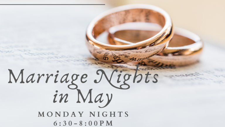 Marriage Nights in May